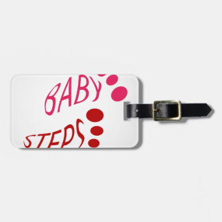 Baby shower luggage tag