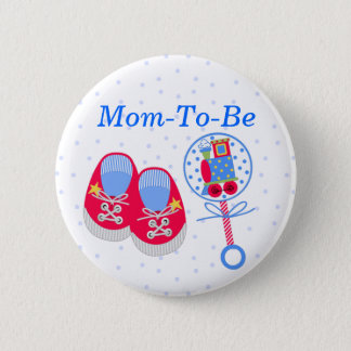 Baby Shower Mommy Pin Button