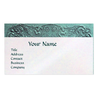 BABY SHOWER MONOGRAM White pearl paper Business Card Template