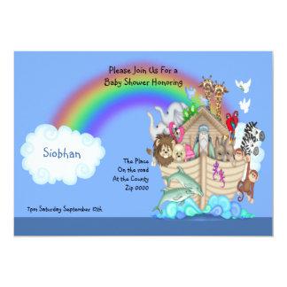 Baby Shower Noahs Ark Card