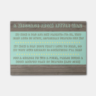 Baby Shower Note Post-it® Notes