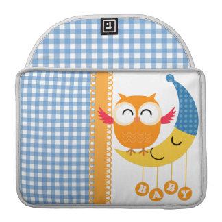 Baby Shower Owl MacBook Pro Sleeve