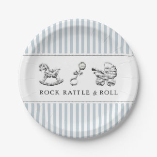 Baby Shower Paper Plate