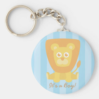 Baby Shower Party Favor: Cute Cartoon Lion Keychain