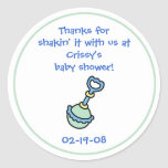 Baby Shower Party Favor Sticker