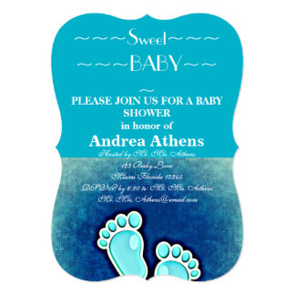 Baby Shower Party Guests Custom Announcement