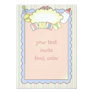 Baby Shower Party Invitations/Announcements Card