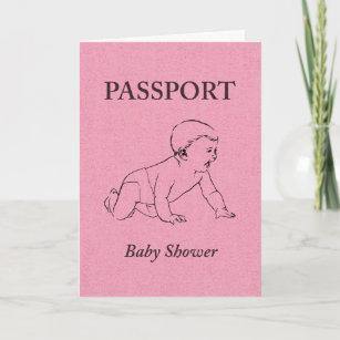 Passport baby shower invitations zazzle baby shower passport invitation filmwisefo