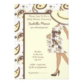 Baby Shower Personalized Invitation