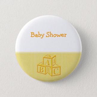 Baby Shower Pinback Button