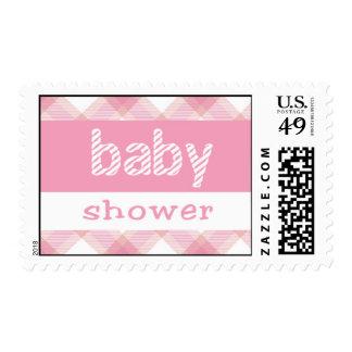 Baby Shower Pink Stamp