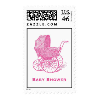Baby Shower Postage Postage Stamps
