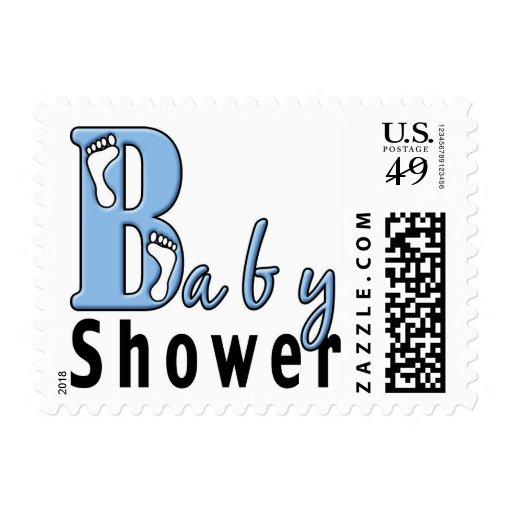 baby shower postage stamp zazzle