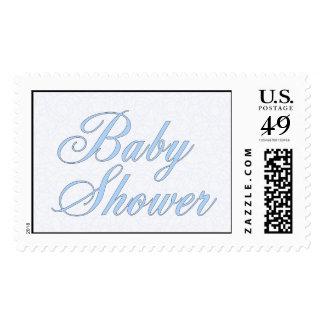 Baby Shower Postage Stamp