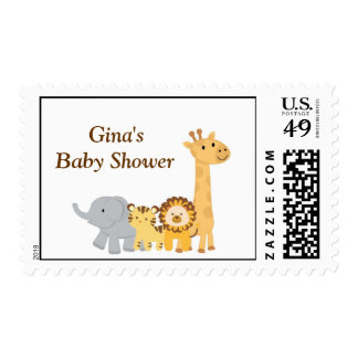 Baby Shower Postage Stamp Stamps