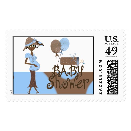 Baby Shower Postage Stamps