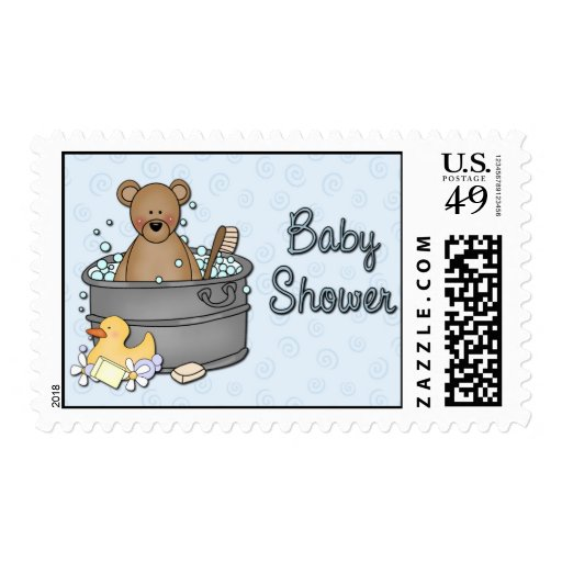baby shower postage stamps zazzle
