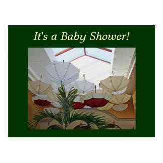 Baby Shower! Postcard