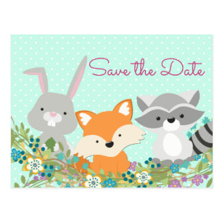 Baby Shower Save The Date Postcard
