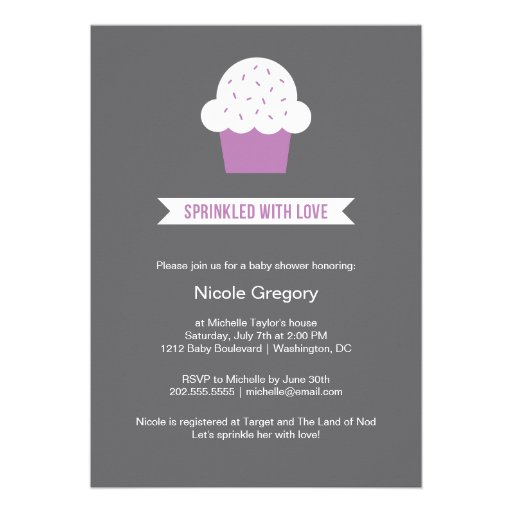 Baby Shower | Sprinkled With Love Announcement