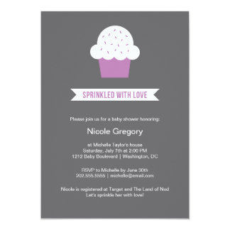 Baby Shower   Sprinkled With Love Announcement