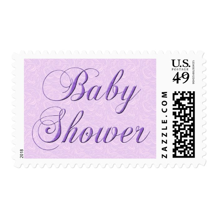 Baby Shower Stamps ~ Baby shower stamp zazzle
