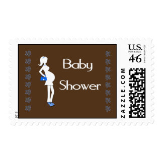 Baby Shower Stamp Boy