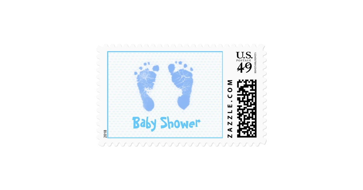 Baby Shower Stamps ~ Baby shower stamps mg zazzle