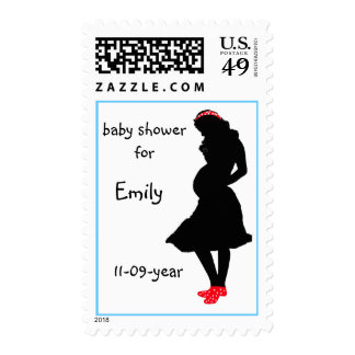 Baby Shower Stamps mg Postage Stamp