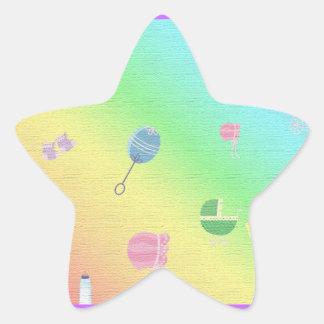 BABY SHOWER STAR STICKER