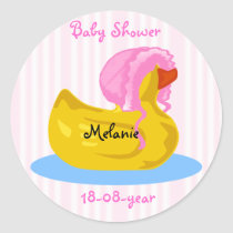 Baby Shower sticker -