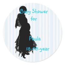 Baby Shower sticker - Customized