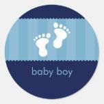 BABY SHOWER STICKER :: happy feet 3
