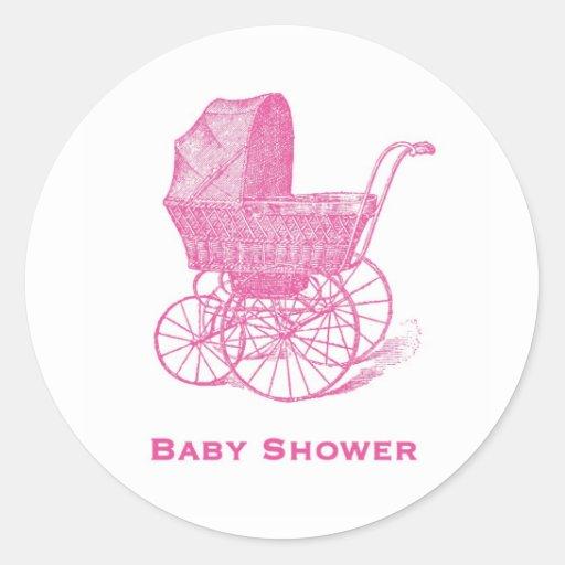 baby shower stickers zazzle