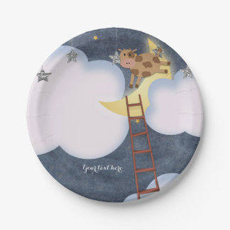 Baby Shower Storybook Nursery Rhyme Custom Party Paper Plate