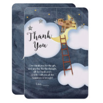 Baby Shower Storybook Nursery Rhyme Thank You Card