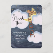 Baby Shower Storybook Nursery Rhyme Thank You Card