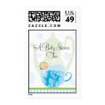 Baby Shower Tea  |  Boy Postage Stamps