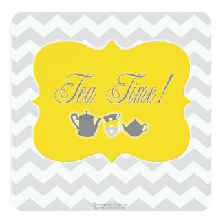 Baby Shower Tea Time! Card