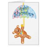 Baby Shower Teddy Bear Cards