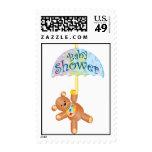 Baby Shower Teddy Bear Postage