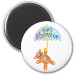 Baby Shower Teddy Bear Refrigerator Magnets