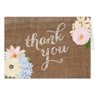 baby shower thank you card, gender neutral thank u card