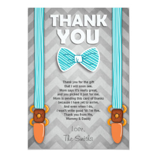 Baby Shower Thank You Notes Invitations & Announcements | Zazzle