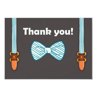 Baby Shower Thank You card Little Man
