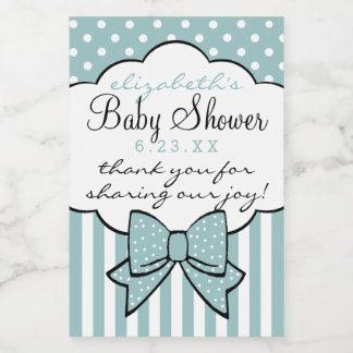 Baby Shower Thank You For Coming Guest Favor Food Label