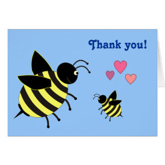 Baby Shower Thank You Note Cards