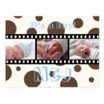 Baby Shower Thank you postcards insert your photos