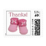 Baby shower thank you stamps