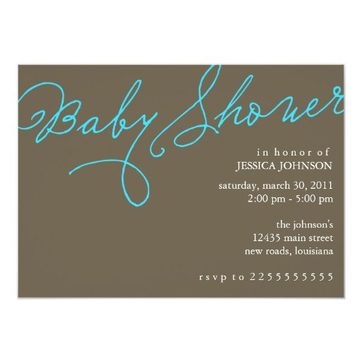 Baby Showers Today ~ Baby shower today s best award card zazzle